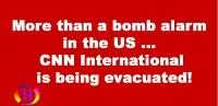 More than a bomb alarm in the US ... CNN International is being evacuated!